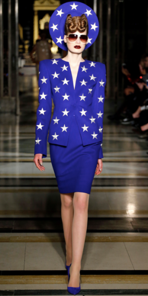 Gareth Pugh - Royal Blue skirt and jacket