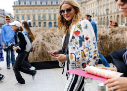 Olivia Palermo during Paris Haute Couture Fall 2016 in the Style Creep