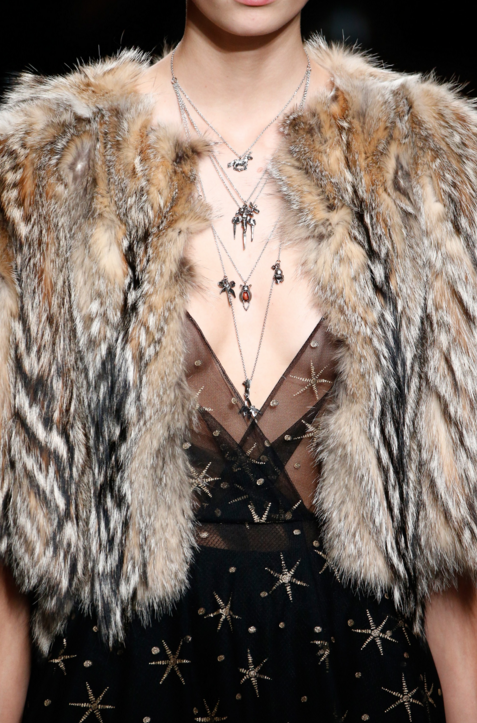 the RunwayRegime editor Amy Bialek picks Valentino FW 2016 as the epitome of a tribal fairytail
