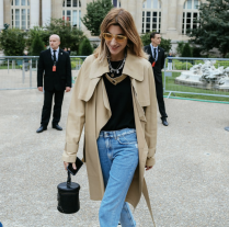 A simple and versatile look during Paris Fashion Week. PC: Phil Oh + Vogue