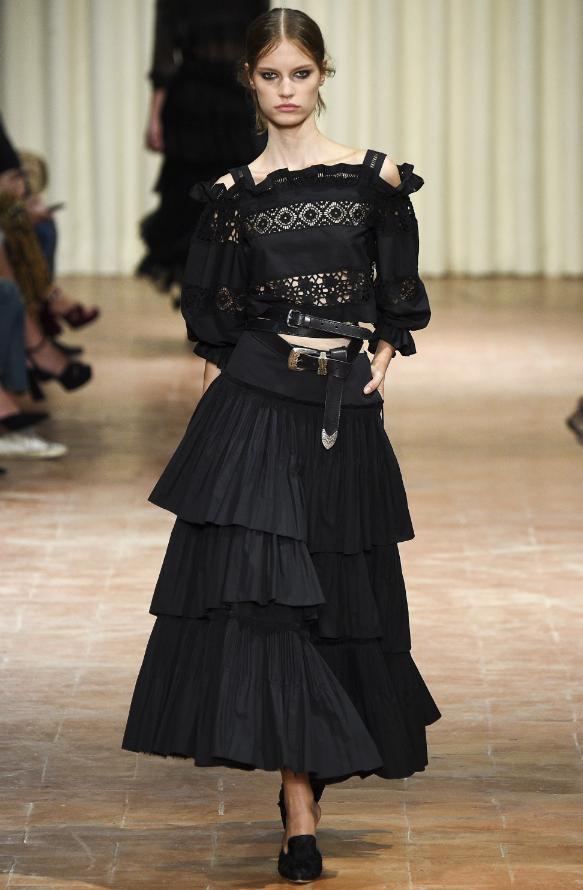 alberta-feretti during Milan Fashion Week